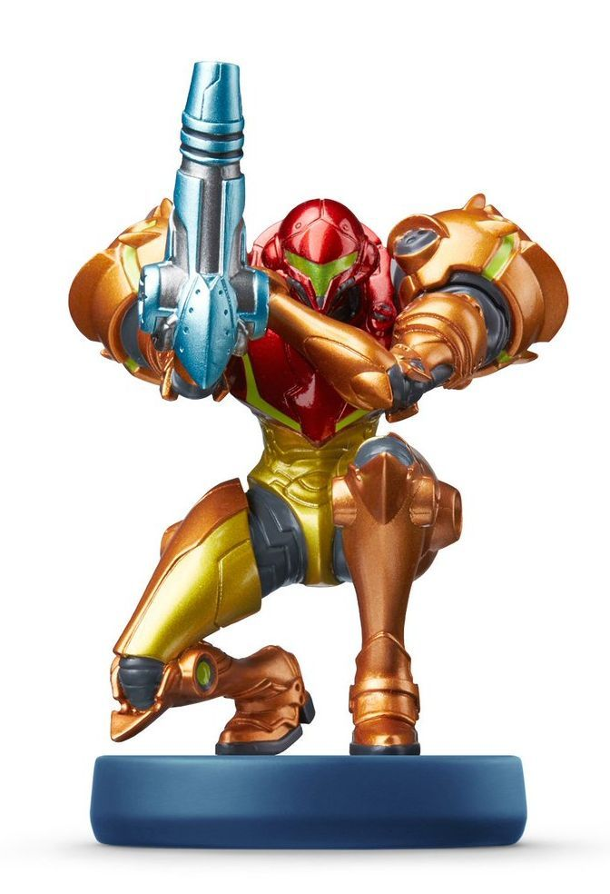 Nintendo Amiibo фигура - Samus Aran [Metroid Samus Returns] - 1